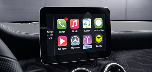 Mercedes-Benz CLA Shooting Brake Android Auto i Apple CarPlay