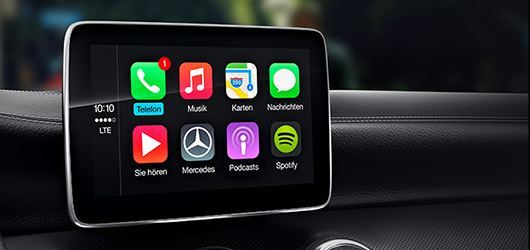 Mercedes-Benz A-klasa Apple® CarPlay®